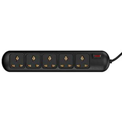 Rapoo Ideakard SP510 5 Socket Surge Protector (Black)
