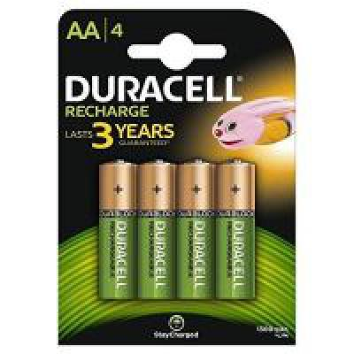 Duracell Plus 5000174 AA Rechargeable Batteries 1300