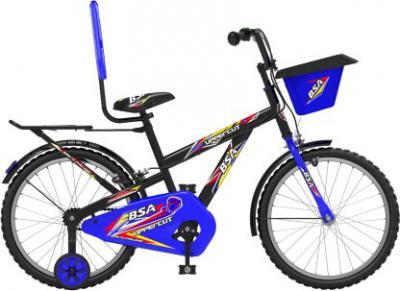 BSA Uppercut 20 T Recreation Cycle (Single Speed, Black)