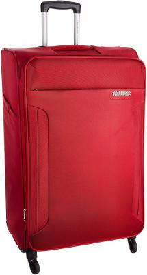 American Tourister Polyester 56 cms Ruby Red Carry-On (AMT Troy SP 56 Ruby RED)