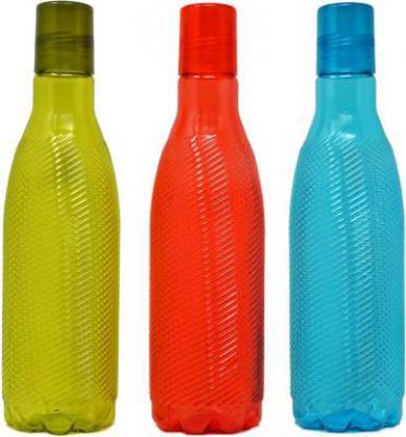 Flipkart SmartBuy Polo 1000ml 1000 ml Bottle  (Pack of 3, Multicolor, Red, Blue, Green)