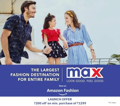 MAX - Clothing & Accessories on Amazon
