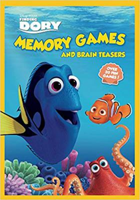 Finding Dory Memory Games Paperback