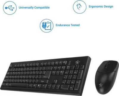 Flipkart SmartBuy Wired Keyboard & Mouse Combo