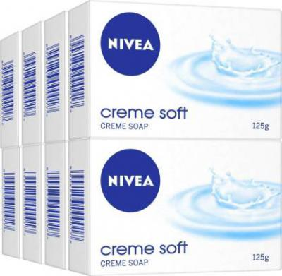 Nivea Creme Soft Soap  (8 x 125 g)