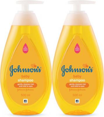 Johnson's New No More Tears Shampoo 500 ml (Pack of 2)