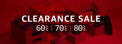Amazon Clearance Sale: 60%, 70% and 80% Off Zone