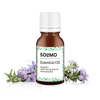 Amazon Brand - Solimo Rosemary Essential Oil, 100% Pure & Natural