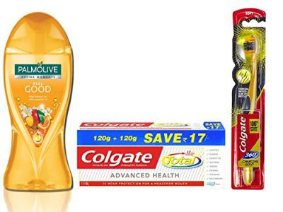 Colgate Bodywash, Toothpaste and Toothbrush Combo