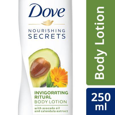 Dove Invigorating Ritual Body Lotion, 250ml
