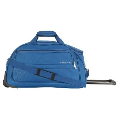 Kamiliant by American Tourister Gaho Wheel Duffle Polyester 52 cms Teal Blue Travel Duffle