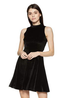 Amazon Brand - Symbol Women's Skater Knee-Long Dress