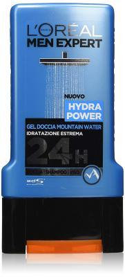 Loreal Paris Men Expert Hydra Power Gel Doccia Mountain Water Shower Gel - 300ml