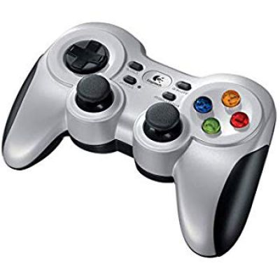 Logitech F710 Wireless Gamepad (Silver and Black)