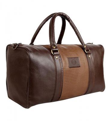 Scharf Mikkel Edward Unisex Faux Leather 20 Litre Duffel Travel Bag