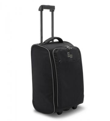Harissons Raptor Polyester Black Cabin Trolley Bag, 30 Litres (R59)