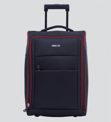 Bags R Us 36 Ltr Polyester Black Cabin Trolley Bag