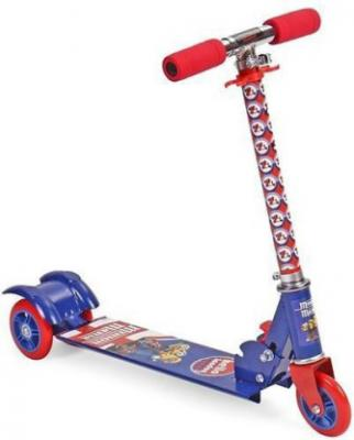 Minion Mania 3 wheel Scooter - Blue & Red