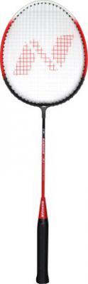 Nivia Ranger Red, Black Strung Badminton Racquet  (Pack of: 1, 96 g)