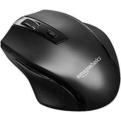 AmazonBasics Ergonomic Wireless Mouse - DPI Adjustable