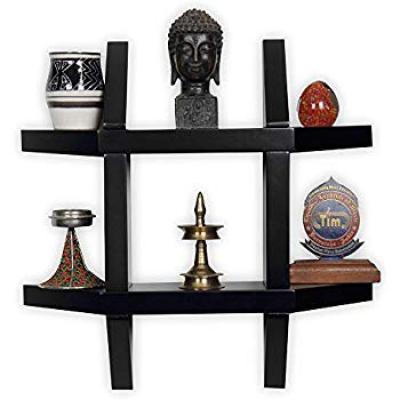 Woodkartindia Aldo Wall Shelf for Home Decor,Living Room Decor, Floating Shelf