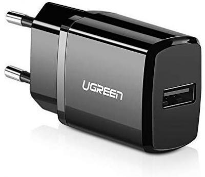 Ugreen 2.1A Wall Charge Adapter with in-Built Auto-Detect Technology for All Smartphones