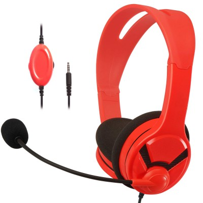 AmazonBasics Gaming Headset - compatible with PC, PlayStation 4, Xbox One and Nintendo Switch