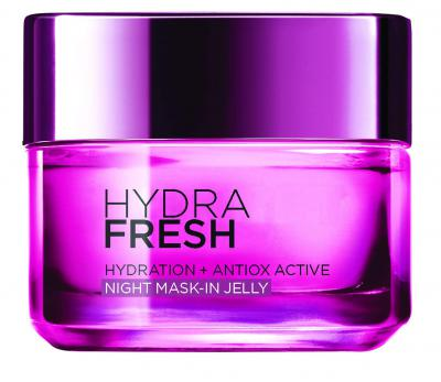 L'Oreal Paris Hydrafresh Anti-Ox Night Mask-in Jelly, 50ml