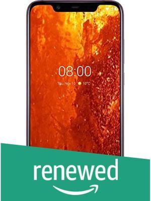 (Renewed) Nokia 8.1 (Iron, 4GB RAM, 64GB Storage) with Offer