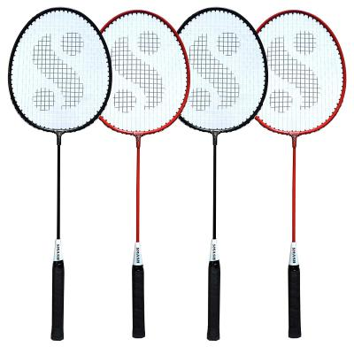 Silvers SIL-SM-COMBO-7 Aluminum Badminton Racquet, Pack of 4
