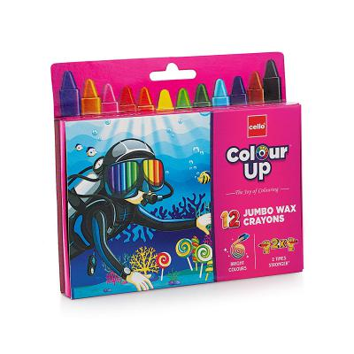 Cello ColourUp Wax Crayons