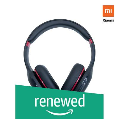 (Renewed) Mi Super Bass Wireless Headphones (Black and Red)