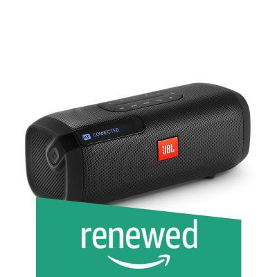 (Renewed) JBL Tuner Wireless Bluetooth Speaker with DAB/FM Radio (Black)