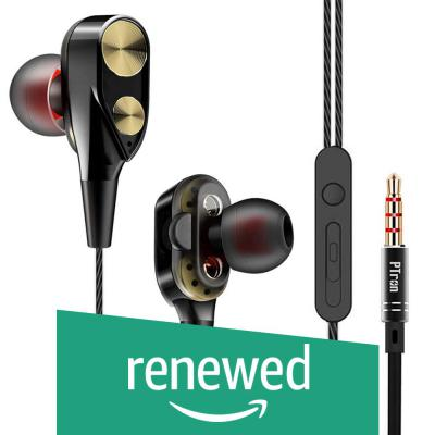 (Renewed) PTron Boom 2 4D Earphone Deep Bass Stereo Sport Wired Headphone with 3.5mm Jack for All Smartphones