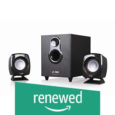 (Renewed) FD F203G 2.1 Channel Multimedia Speakers System (Black)