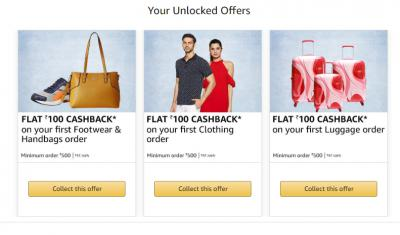 Amazon Fashion: Collect Offer worth Rs. 300