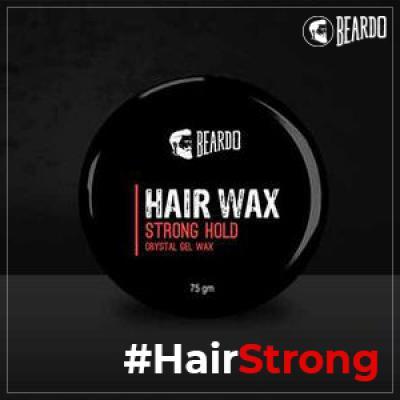 Beardo Strong Hold Hair Wax, 75g