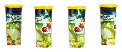 Signoraware Tree House Plastic Tumbler, 500ml, Set of 4