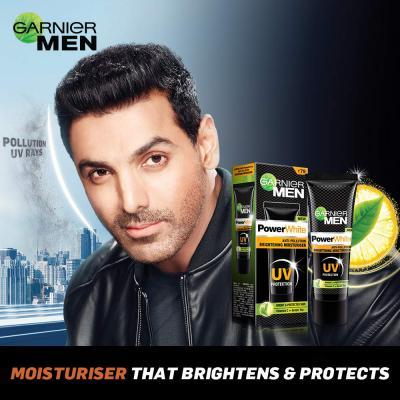 Garnier Men PowerWhite Anti-Pollution Brightening Moisturiser,20g