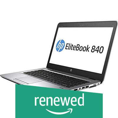 (Renewed) HP Elitebook 840G1-i5-4GB 512GB 14-inch Laptop (4th Gen Core i5/4GB/512 GB SSD/Windows 7/Integrated Graphics)