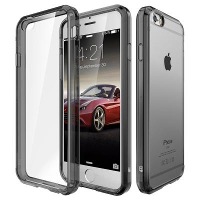 ELV ip6s-clrtpu+ultraPC-Grey Back Case Cover for iPhone 6S (Grey)