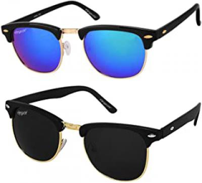 Unisex Sunglasses: Pack of 2 at Rs.99