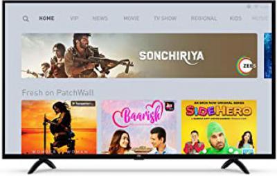 Mi LED TV 4A PRO 43 inch Full HD Android TV + Echo Dot (3rd Gen) + Wipro WiFi Enabled Smart LED Bulb B22 9-Watt