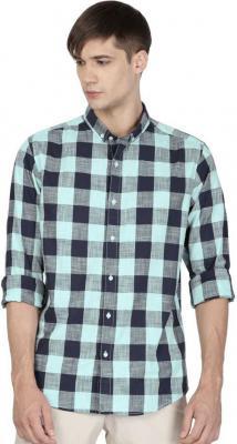 ether Men Checkered Casual Shirt