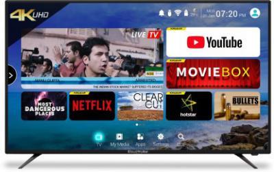 CloudWalker 139cm (55 inch) Ultra HD (4K) LED Smart TV  (CLOUD TV 55SU)