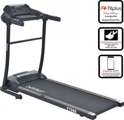 FITKIT FT098 Steel Motorized/FT98 Steel Motorized Treadmill