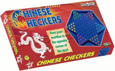 Miss & Chief Chinese Checkers Board Game