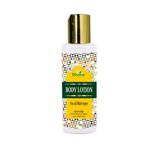 Divine India Body Lotion for all skin types Ayurvedic oil,200ml