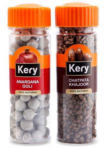 Kery Anardana Goli & Chatpata Khajoor Mukhwas, 2 Bottles, 290g [Mouth Fresheners]