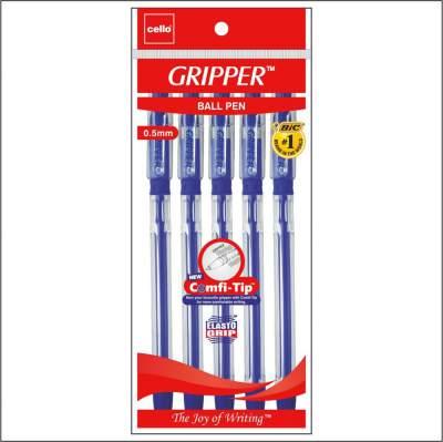 Cello Gripper Ballpen - Pack of 250 (Blue - Pouch Packing)